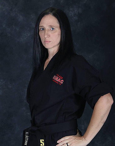 Amy Williams Black Belt Instructor
