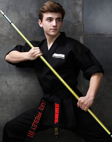 Jake Presley Black Belt Instructor