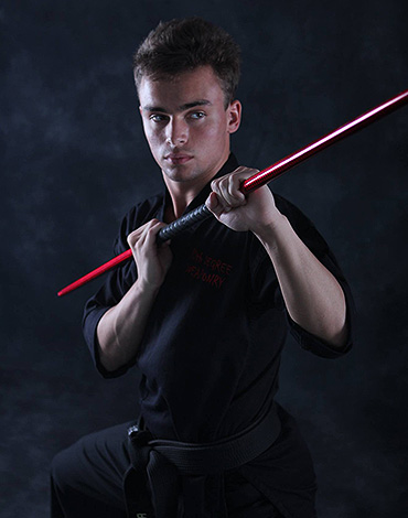 Reid Presley Black Belt Instructor